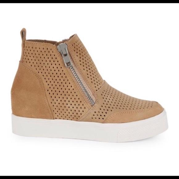 66bbcb248ee Steve Madden Laureen Wedge Sneaker. M 5c6fa58e4ab633dd76eea76e